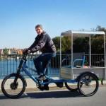 Marco Walter mit Transportrad in Konstanz (eigenes Werk)